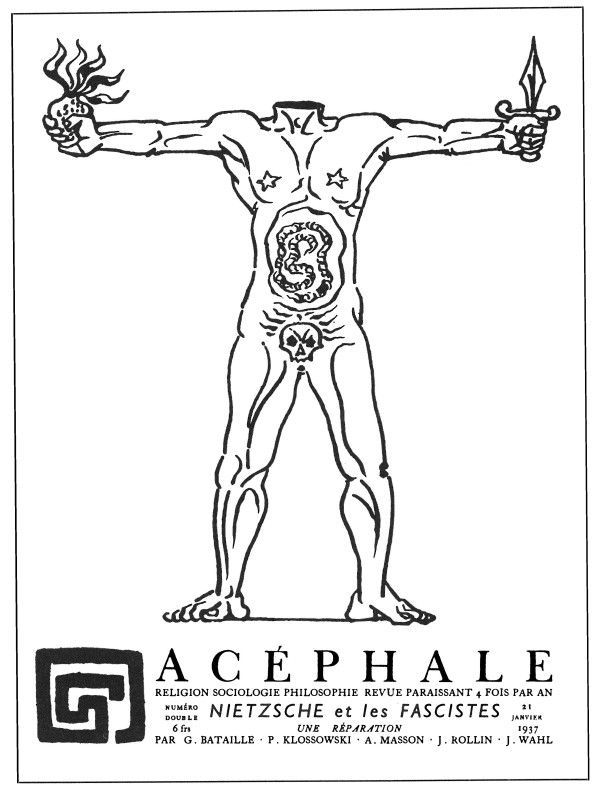 Acéphale, first issue