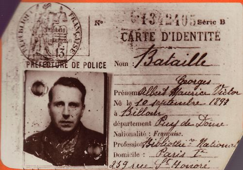 Bataille's Identity Card