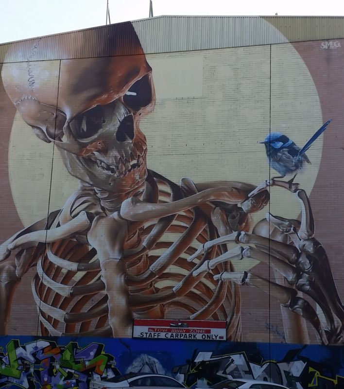 """Mortality Mural"", Frankston"