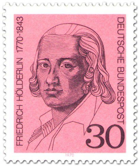 Holderlin stamp, 1970